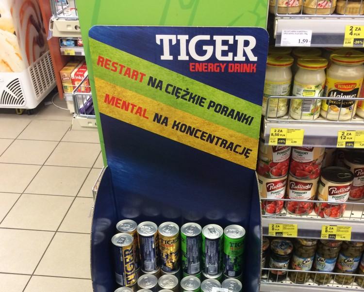 Tiger display