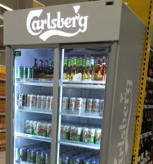 stojak Carlsberg