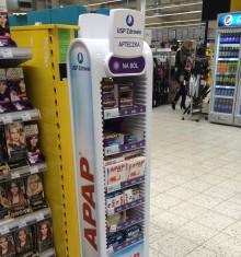 stojak reklamowy ibuprom