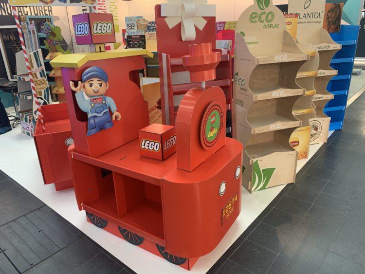 Display Lego Duplo Lokomotywa
